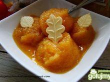 Sorbet rabarbarowo- pomarańczowy