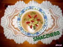 Sos brokułowo - paprykowy