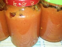 Sos cukiniowo - pomidorowy