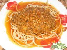 Sos do spaghetti mięsno cukiniowy