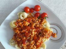 Sos drobiowo pomidorowy do makaronu
