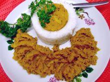 Sos dyniowy z  ryżem