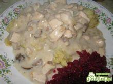 Sos grzybowo-kurczakowy