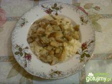 Sos grzybowy z ziemniakami
