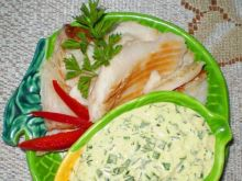 Sos jajeczny do wędzonej ryby :