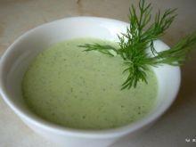 Sos majonezowy, zielony