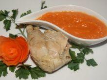 Sos marchewkowy albo-albo ( imbir albo chrzan)
