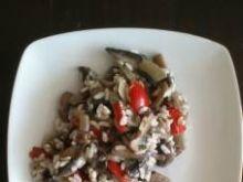 Sos pieczarkowo - paprykowy do ryżu