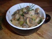 Sos pieczarkowy idealny do makaronu, ryb i drobiu