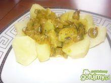 Sos pieczarkowy na ziemniaki