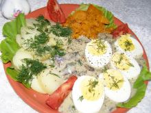 Sos pieczarkowy z jajkami