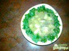 Sos pieczarkowy z zieloną pietruszką