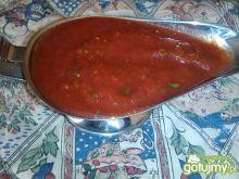 Sos pomidorowo-czosnkowy