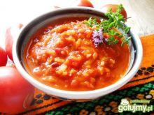 Sos pomidorowo warzywny z paprykową nutą