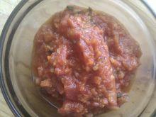 Sos pomidorowy do posmarowania pizzy