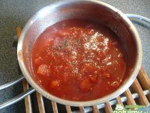 Sos pomidorowy do spaghetti wg Elfi