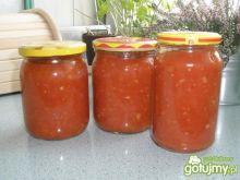 Sos pomidorowy z cukinią