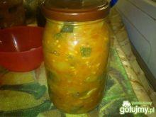 Sos pomidorowy z cukinią ala leczo