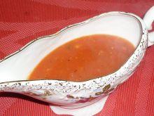 Sos pomidorowy z czosnkiem i bazylią