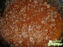 sos pomidorowy z makaronem