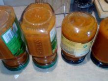Sos pomidorowy z papryką, patisonem i czosnkiem