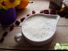 Sos sałatkowy jogurtowo-makowy