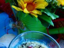 Sos sałatkowy winegret z makiem i sezame
