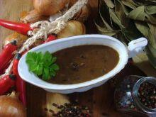 Sos z suszonych grzybów  do mięs gołąbków