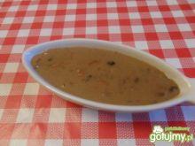 Sos z suszonych grzybów z marchewką