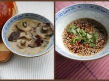 Sos z trzech grzybów i marynata sojowa