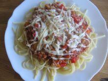 Spagetti Bolognese na ostro