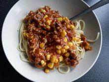 Spagetti z kukurydza