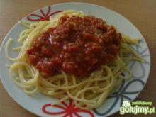 Spagetti z sosem pomidorowym 3