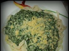 Spagetti ze szpinakiem 2