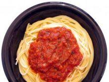 Spaghetti all'amatriciana (Włochy)