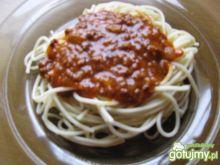 Spaghetti bez użycia oliwy