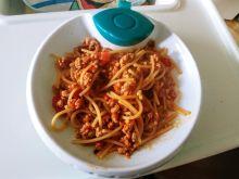 Spaghetti bolognese dla niemowlaka