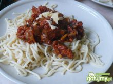 Spaghetti Bolognese wg olmanki
