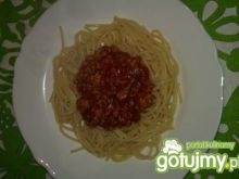 Spaghetti bolognese z ziołami