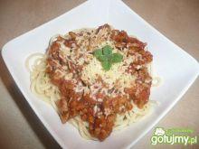 Spaghetti bolońskie.