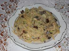 Spaghetti brokułowe