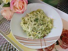 Spaghetti na zielono