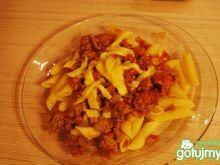 Spaghetti po bolońsku pepsicOli