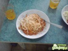 Spaghetti po bolońsku z fixem