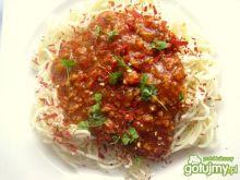 Spaghetti podwójnie pomidorowe
