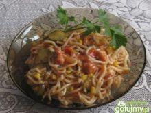 Spaghetti w sosie