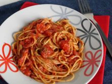 Spaghetti w sosie neapolitańskim