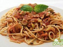 Spaghetti w sosie pomidorowym wg Koper
