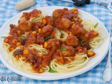 Spaghetti w stylu meksykańskim