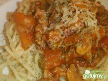 Spaghetti warzywno-mięsne